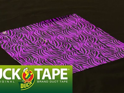 Duck Tape Crafts: How to Make Duck Tape Fabric with Mr. Kate