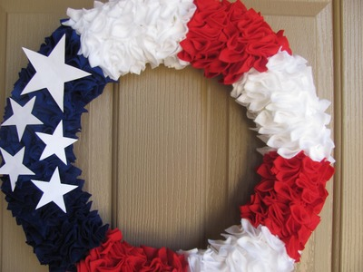 Gorgeous Fourth of July Wreath