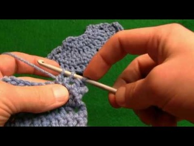 How To Crochet 2  Together Decrease-Right Handed