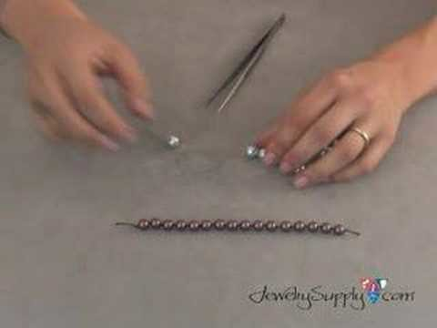 How to Knot Pearls - Beading