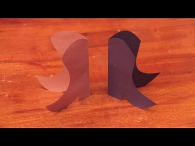How to Make a Cowboy Boot From Paper for a Birthday Party : Arts & Crafts