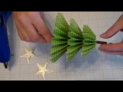 How to make a Rosette Christmas Tree Video Tutorial