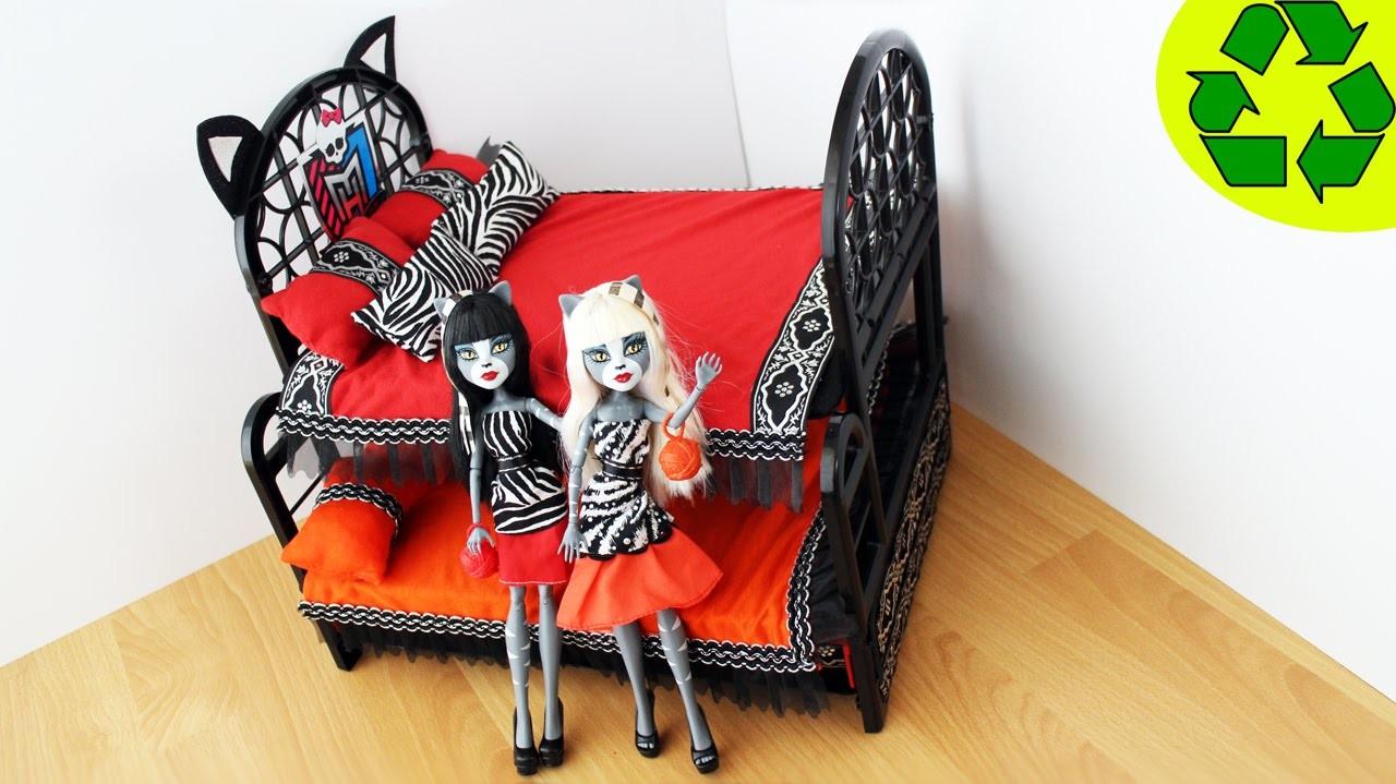 Картинки кровати для кукол монстер хай