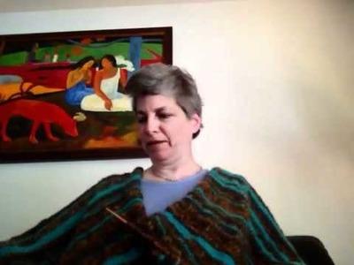 Knitting a Poncho