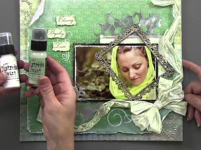 Mixed Media Scrapbooking - Paper Wishes Weekly Webisodes