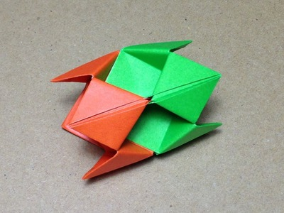 Modular Origami. How to make an Origami Ball