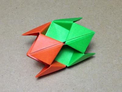 Modular Origami. How to make an Origami Ball