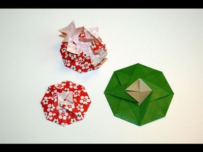 Origami tutorial - Octogonal tato