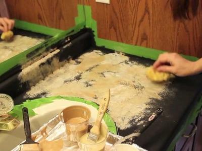 Transforming.Painting Countertops - DIY!