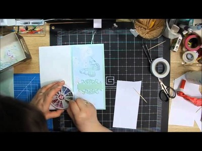 Wedding card - scrapbooking by Hoinka Crafts