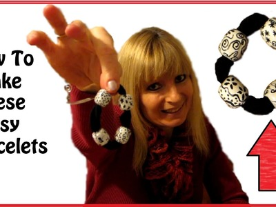 Zentangle Bead Bracelet Tutorial