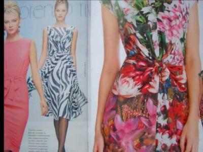 Zhurnal Mod 568 Sewing patterns Fashion Magazine July 2013