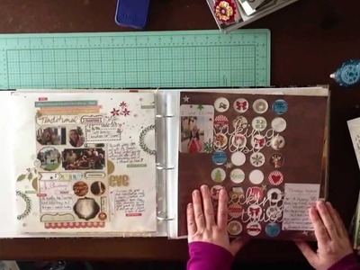 2014 Scrapbook Album Share: Organizing Scrapbook Layouts. Library Of Memories. Photo Freedom