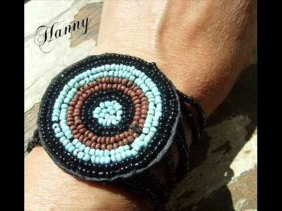Beaded jewelry, beading embroidery by Hanny