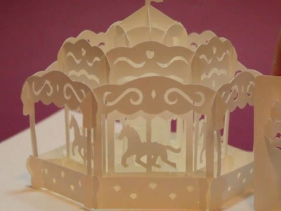 CAROUSEL Pop up card