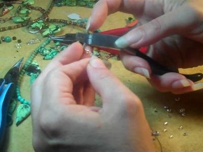 Crimp beads that hold. Magpiegemstones.com