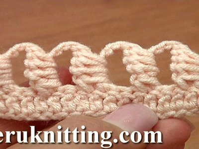 Crochet Bullion Block Stitch Tutorial 40 Part 6 of 7 Way to Work The Bullion Block