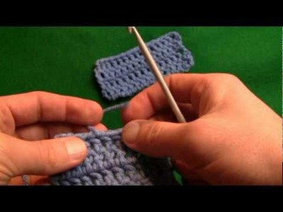 Crochet How To Cast Off and Hide Loose Ends