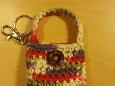 #Crochet small coin purse #TUTORIAL Idea for Crochet purse Crochet project