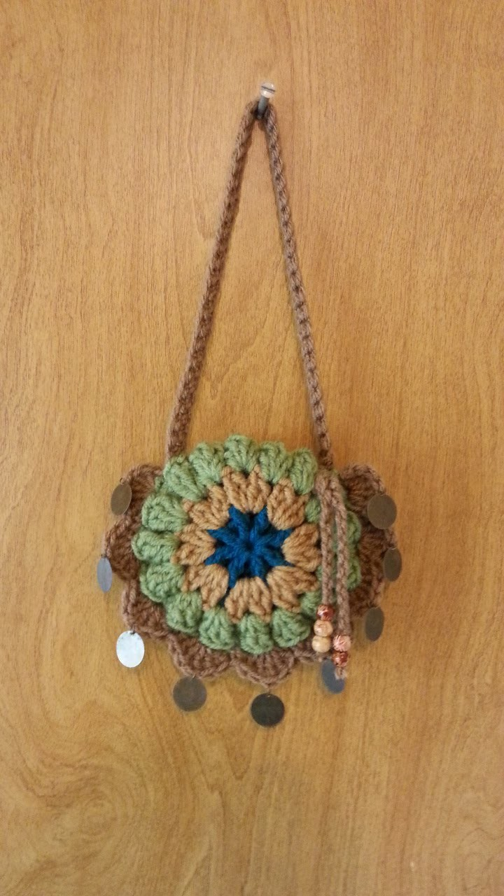 #Crochet small Handbag Purse #TUTORIAL DIY CROCHET BAGS FREE
