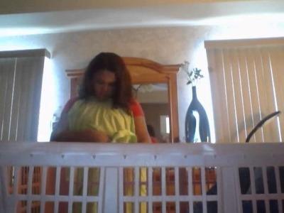 Diy crib for your reborn doll