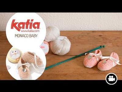 DIY Monaco Baby Patucos • Booties • Chaussons