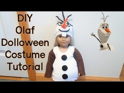 DIY Olaf Dolloween Costume Tutorial *HD