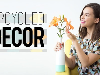 DIY Upcycled Spring Decor