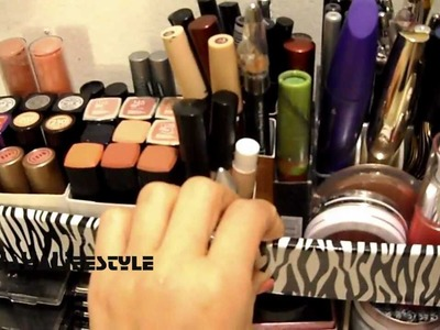 DIY Vanity & Makeup Storage Ideas