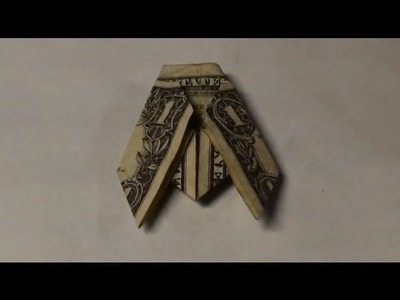 Fold a $1 One Dollar Fly Origami - Dollar Bill Bug Tutorial - Instructions for Moneygami Insect