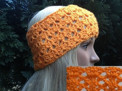 How to Crochet a Headband by ThePatterfamily Pattern #9