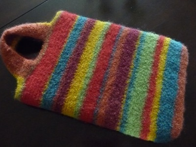 How To Crochet iPad Carry Bag
