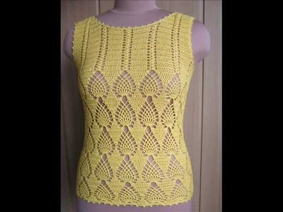 How to crochet tunic top free pattern