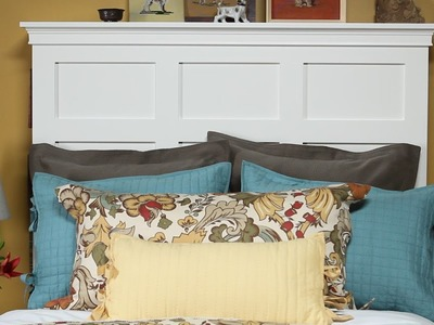 How to Make a Headboard with Storage