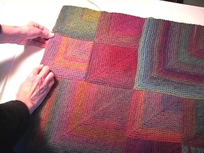 How to Make a Mitered-Square Afghan-Part 2