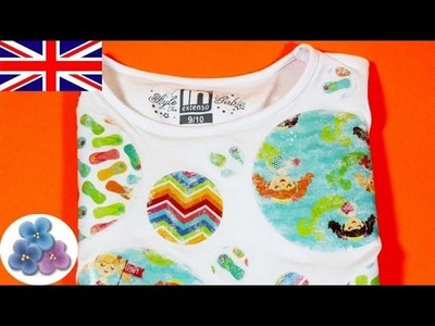 How to make a T Shirt Image Transfer to Fabric DIY Projects Gel Medium Transfer DIY Mathie