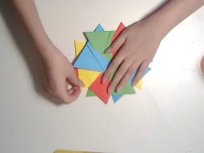 How to Make an Origami Flower (Easy)