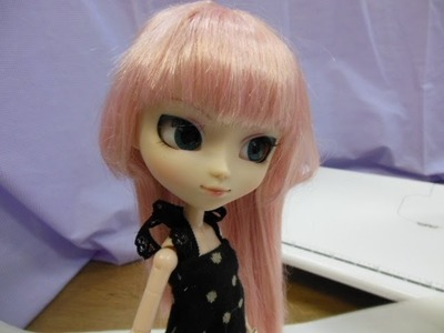How to make doll outfit knit dress of the waterdrop pattern.★For your Pullip