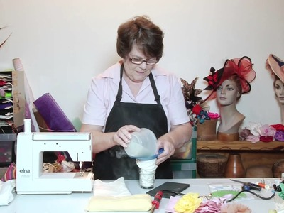 How To Make Hats - French Flowermaking Sandbag