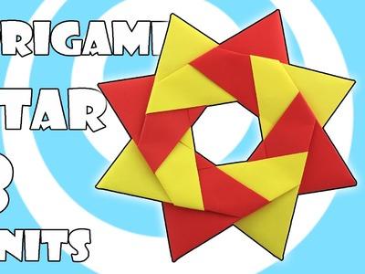 Modular Origami Robin Star Tutorial (Maria Sinayskaya)