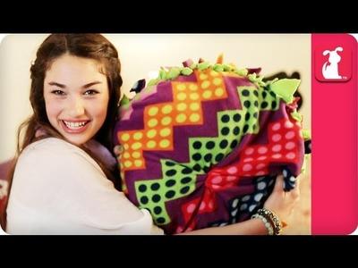 No Sew Doggy Pillow - Sedona DIY