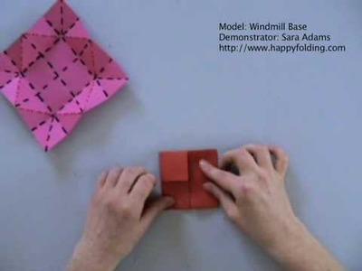 Origami Basics: Windmill Base