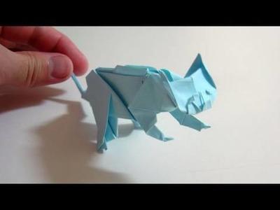 Origami Cat - Gato de origami