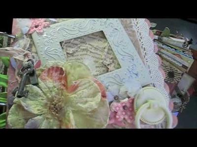 PT 3~Scrapbooking MEGA MINI Album! *SURPRISE* Happy Birthday MARION @ A Piece of Craft