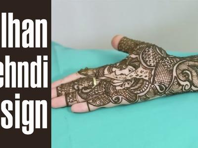 Step By Step Spectacular Dulhan Mehndi Design