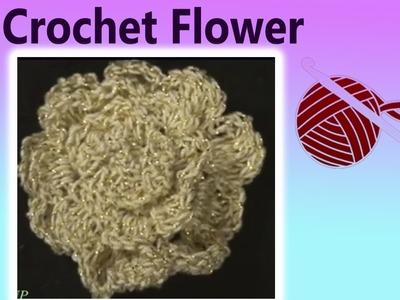 Thread Crochet Flower Marianna Left Hand Crochet Geek