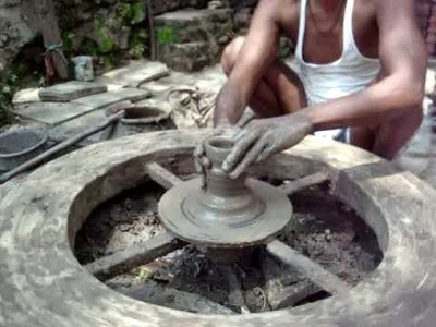 Trip to India (pottery wheel techniques)