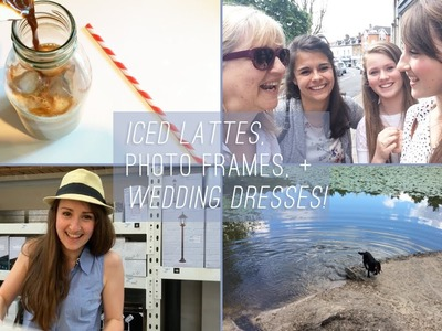 {Weekend VLOG!} Wedding dress shopping + gallery walls + Nutella pastries! || Cider with Rosie