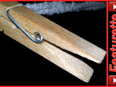 Wooden Clothespins For Line Drying & Crafts Like Dolls or Reindeer Ornaments Sold in Bag Fulls