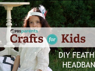1920's Flapper-Style Headband | Crafts for Kids | PBS Parents